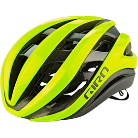 Giro Aether MIPS Kask rowerowy, highlight yellow/black